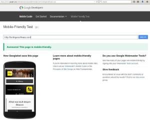 mobile friendly - ffs