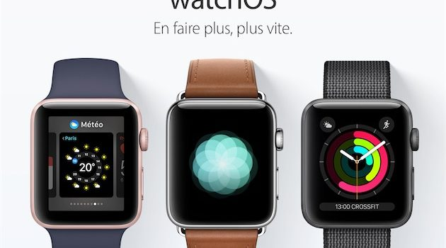 watchOS 3.0: Les nouveautes