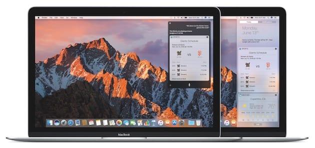 Des nouveautés de macOS Sierra à découvrir